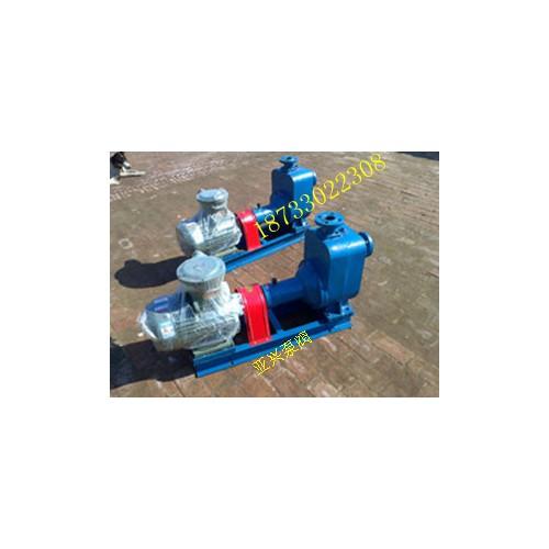 内蒙古自吸泵特制|泊头亚兴泵阀厂家零售CYZ自吸式离心油泵