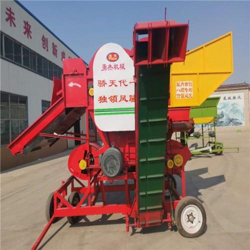 摘果机价格 花生摘果机厂家 自动上料花生摘果机 勇杰机械