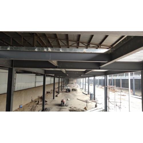 河北钢结构屋顶防水厂家定制_北京福鑫腾达彩钢订做钢结构实例
