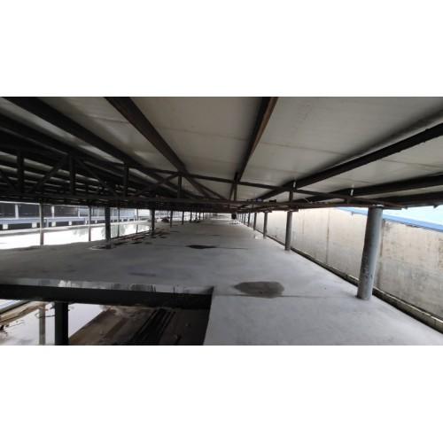 天津岗亭活动房定制电话|福鑫腾达彩钢工程承包钢结构升顶