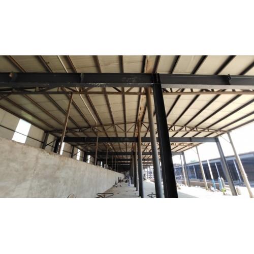 石家庄钢结构安装工程多少钱/北京福鑫腾达订做北京彩钢钢结构