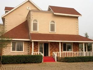 河北钢结构公司公司电话_福鑫腾达彩钢厂家定做轻型钢结构别墅