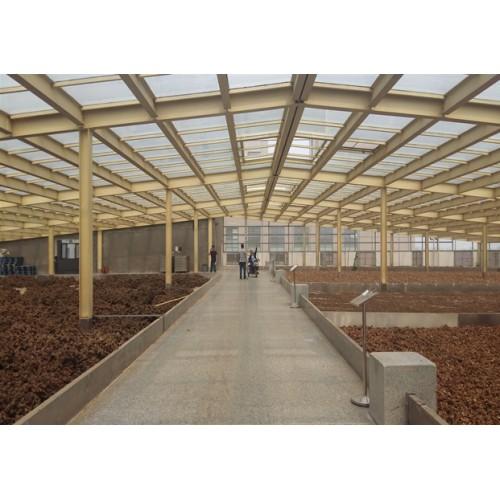 彩钢钢构制作-北京福鑫腾达彩钢工程设计钢结构玻璃顶