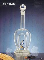 吉林手工艺玻璃酒瓶厂家供货|宏艺玻璃制品公司量大优惠