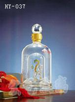 山西手工艺酒瓶生产定制|河间宏艺玻璃量大优惠