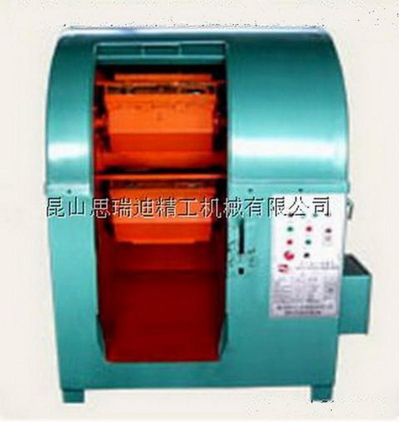 上海铝镁合金冲压件去毛边去飞边离心抛光机 滚桶光饰机 滚筒机
