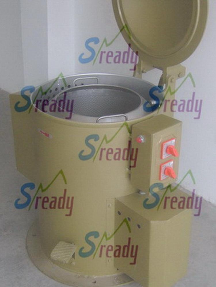 无锡金属碎屑回收用脱油机 金属碎屑甩油机 离心甩干机