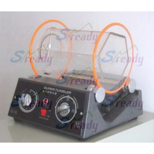 江苏细小零件去毛刺小型滚桶研磨机 去毛边小型滚筒抛光机