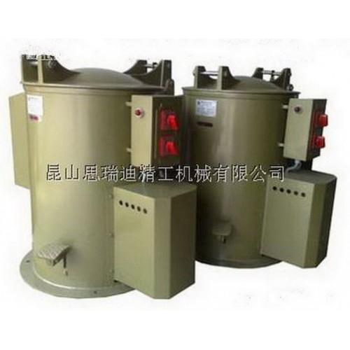 无锡五金电镀零件脱水烘干机 电镀厂离心甩水机 离心甩干机