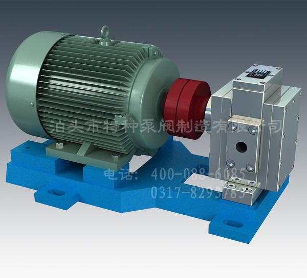 吉林齿轮泵订做/泊特泵厂家直营高压高精度齿轮泵
