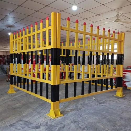玻璃钢护栏厂家化工厂平台护栏 昌煊玻璃钢拉挤护栏