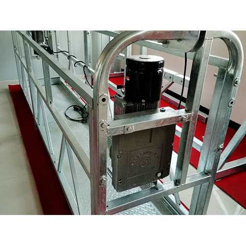 重庆镀锌电动吊篮订制_明富工程机械供应热镀锌电动吊篮