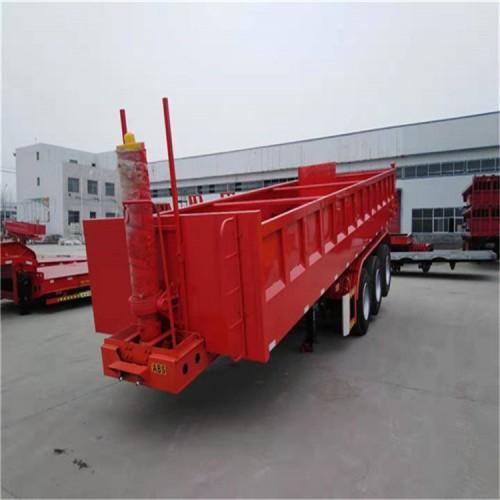 13米栏板标箱半挂车 普通栏板挂车生产厂 拉货方便