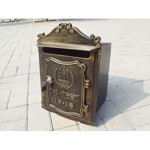 新疆入墙邮筒生产订做/韩集兴达铸造厂