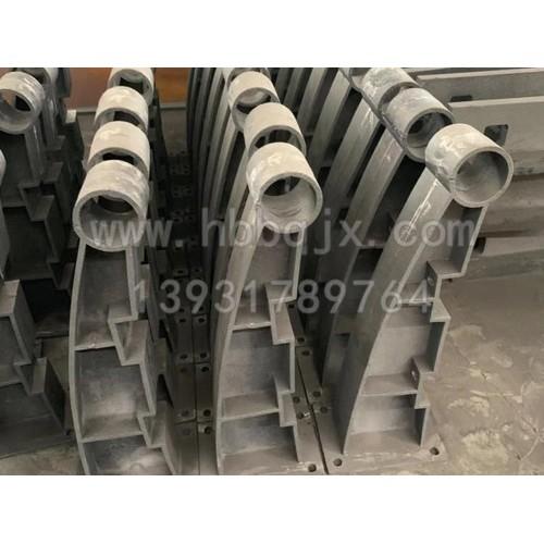 云南铸钢护栏支架加工/泊泉机械定制厂家