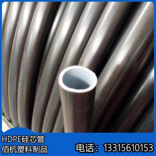 河北佰杭黑色5米PE埋地管机械强度高
