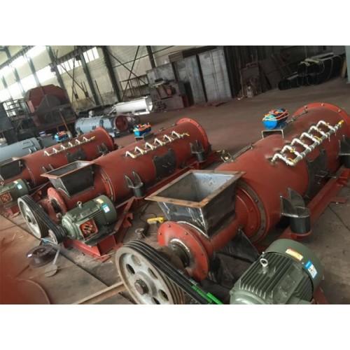 山东淄博单轴粉尘加湿机生产厂家|九宸环保|源头工厂定做