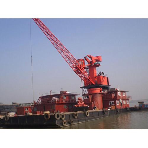 河南郑州货船吊机怎么样「通之宇机械」货船起重机#一站式服务