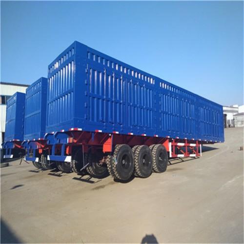 20英尺集装箱半挂车 展翼集装箱 配置出售整车价格