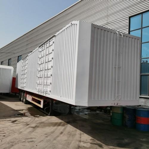 40英尺集装箱 三轴集装箱半挂车