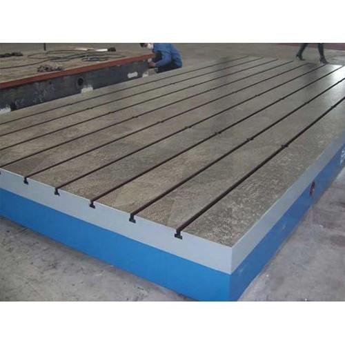 山西铸铁检验平板企业/启翔工量具加工订做T型槽平台