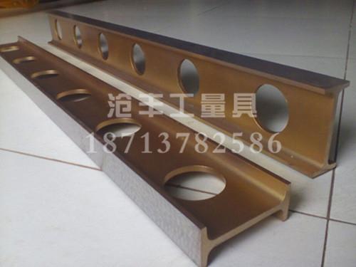 新疆刀口尺加工/沧州沧丰公司加工订做镁铝合金平尺