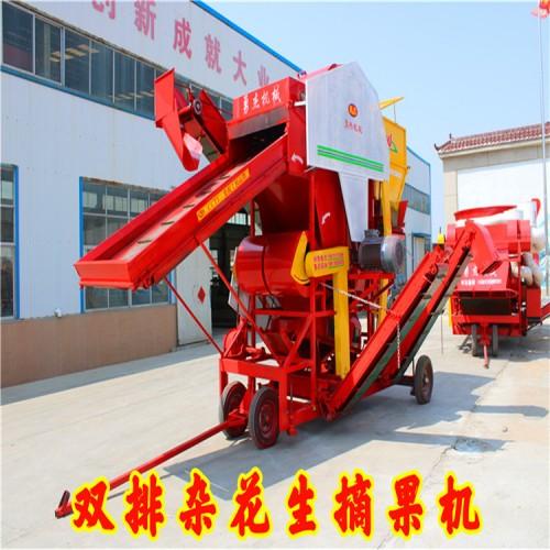 双排杂花生摘果机厂家 大型花生摘果机 勇杰机械