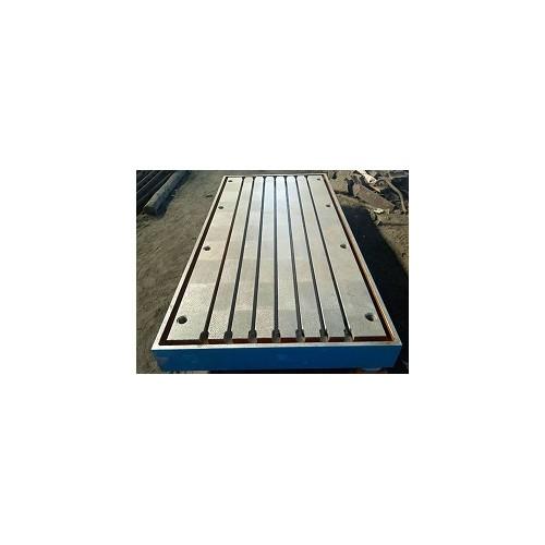河南郑州T型槽平台「仁丰量具」铸铁T型槽平板*报价