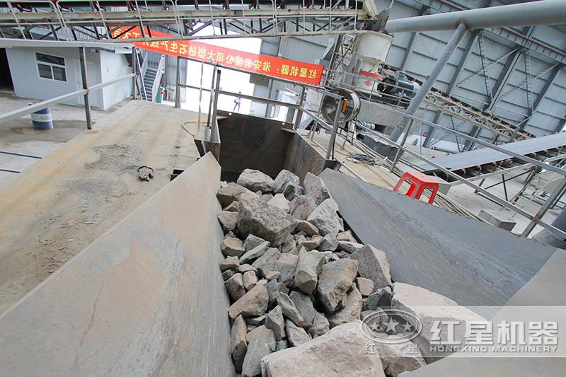 河道里的石头制沙能用吗?用到哪种设备T2