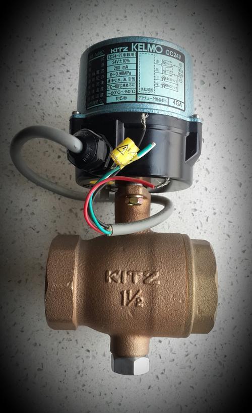 日本KITZ北泽电动球阀 进口EA100电动阀