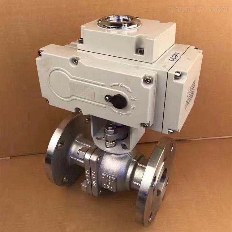 Q941F-16法兰电动球阀 法兰电动球阀