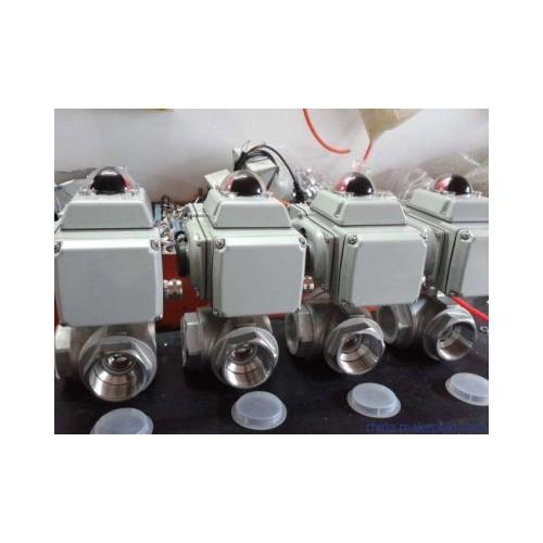 Q942F电动三通球阀 产品电动阀