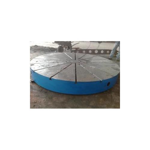 北京检验平板企业_峻和机械来图加工圆形铸铁平板