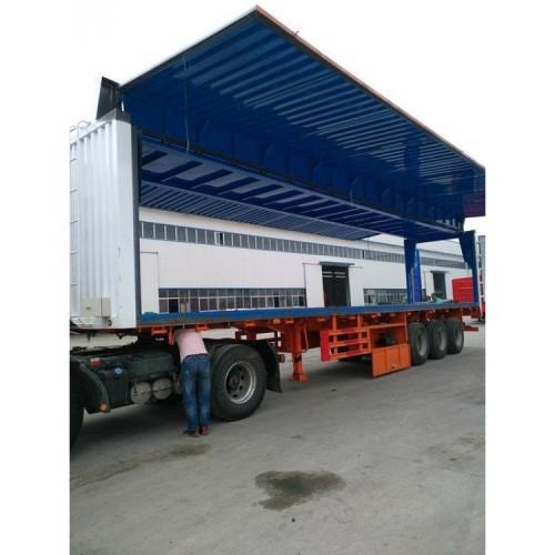11米骨架集装箱半挂车 双翼集装箱半挂车 13米骨架半挂车