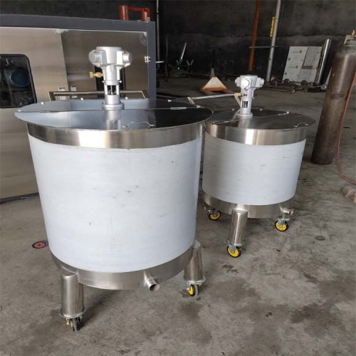 气动搅拌桶 不绣钢搅拌罐 涂料调合桶 全自动搅拌罐