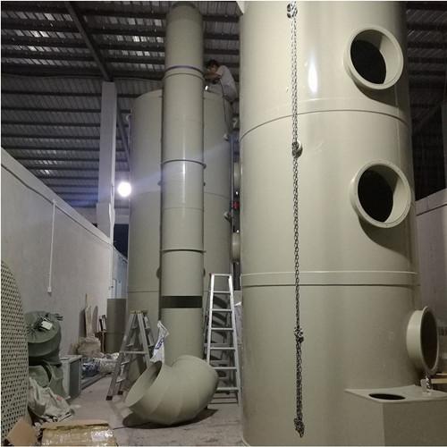 冠信环保厂家专业制作,销售喷淋塔废气设备厂家直销量大从优
