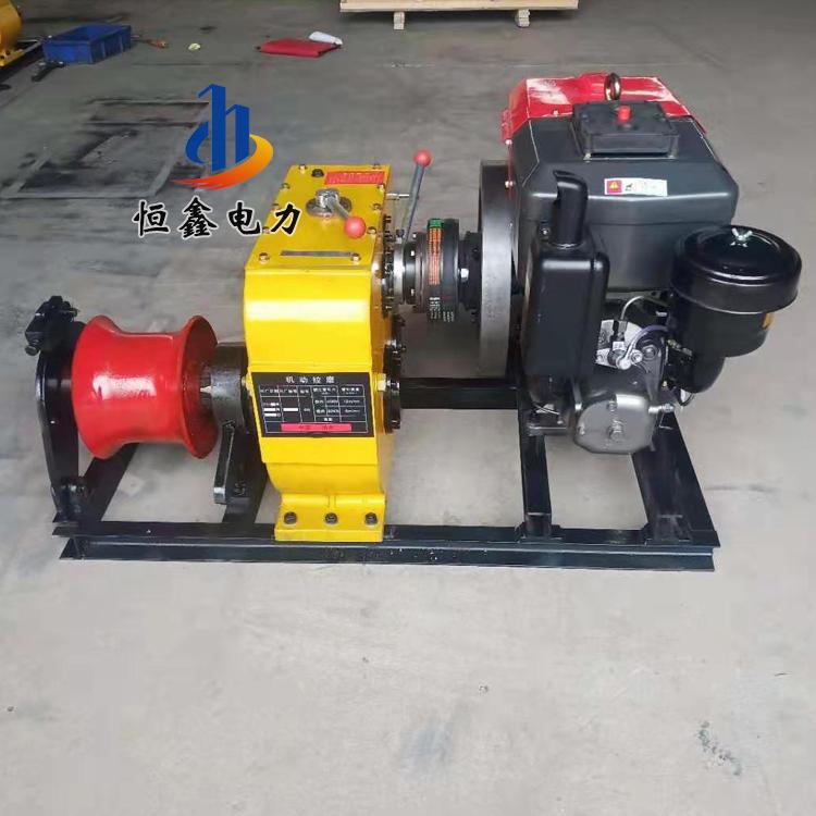 机械绞磨机 风冷柴油绞磨拉线牵引机 绞磨收线机