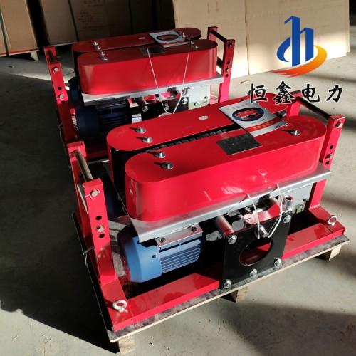 180型可调速电缆拉线机 施工电动电缆敷设机恒鑫厂家