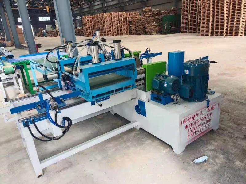 原木材梳齿接木机  双端开榫对接机  压方木机