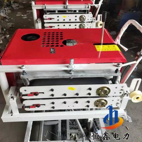 光缆传送机 可推拉光缆牵引机 胶块光缆布线牵引机恒鑫