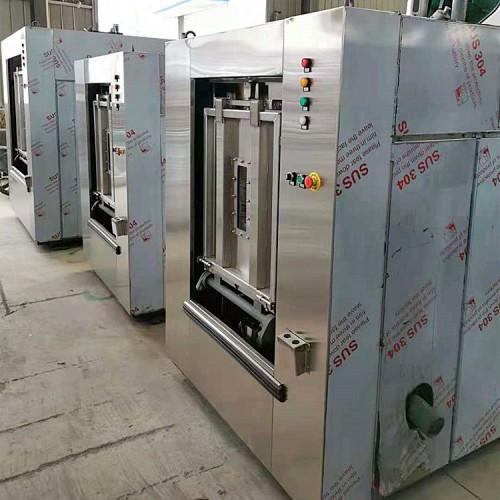 医院布草洗涤设备 100KG全自动洗衣机烘干机