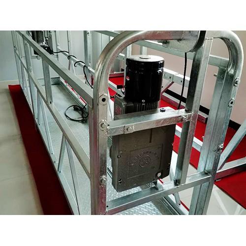 浙江施工电动吊篮定做_河北明富工程机械加工热镀锌电动吊篮