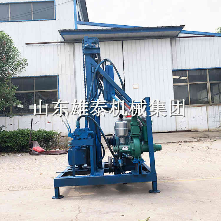 柴油发动机350型百米农用水井钻机 饮水井灌溉井