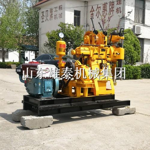 雄泰机械 150米高低速打井机柴油液压地质勘探岩心取样钻机