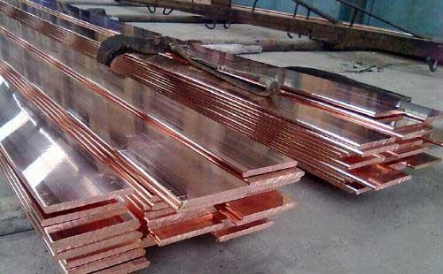山东德州镀铜扁钢「宏电防雷器材」铜包钢扁钢