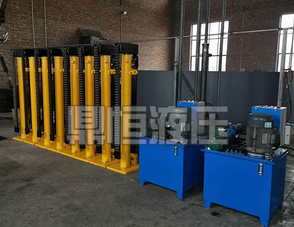 山西液压顶升设备生产企业 鼎恒液压机械生产制造液压提升装置