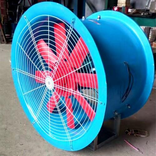 T35-11轴流风机移动式带轮子型 室内通风换气用 衡水永动
