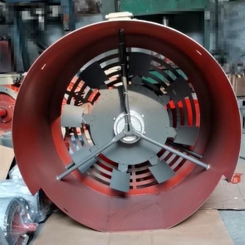 定制电机散热风机 GP500双支架风机 变频电机冷却风机