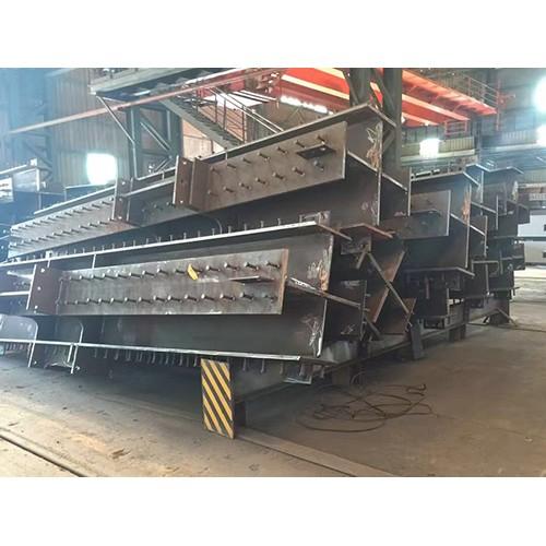 陕西彩钢钢结构企业/新顺达钢结构公司厂家定做十字柱
