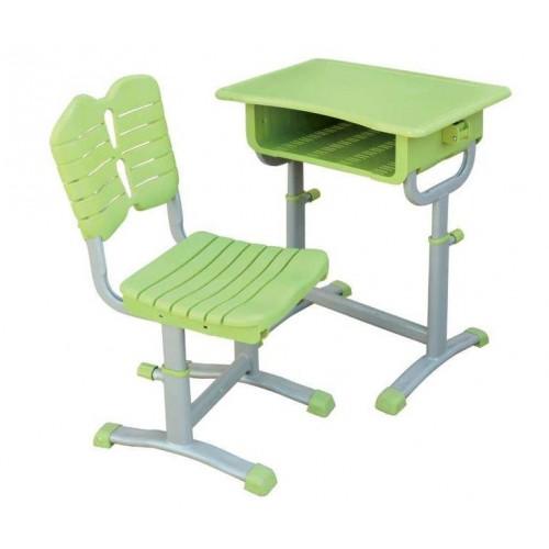 陕西升降课桌椅生产企业-河北鑫磊家具可定制ABS课桌凳